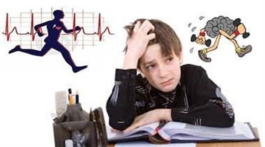 رابطه مستقیم درس خواندن و ورزش کردن